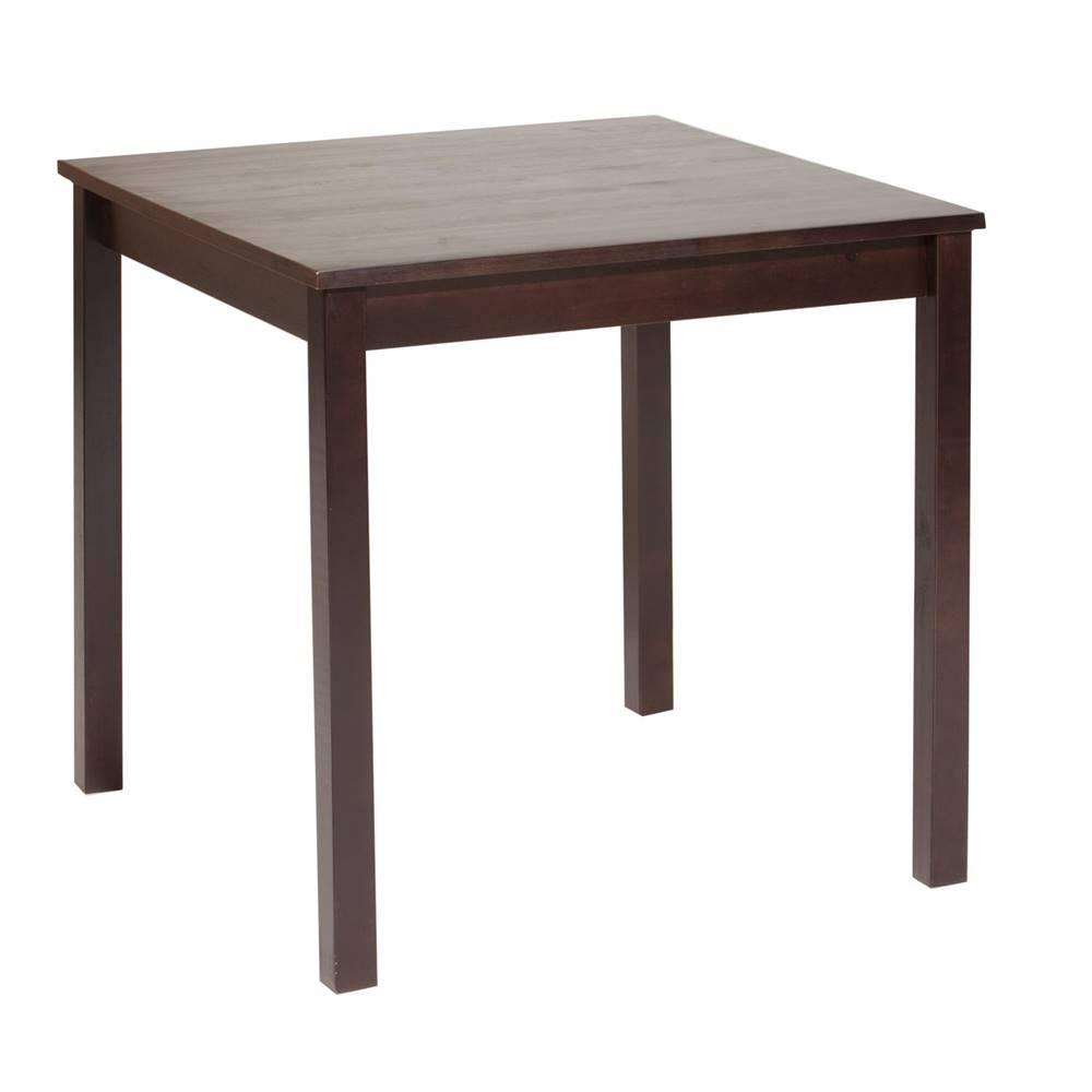 IDEA Nábytok Jedálenský stôl 8842 tmavohnedý