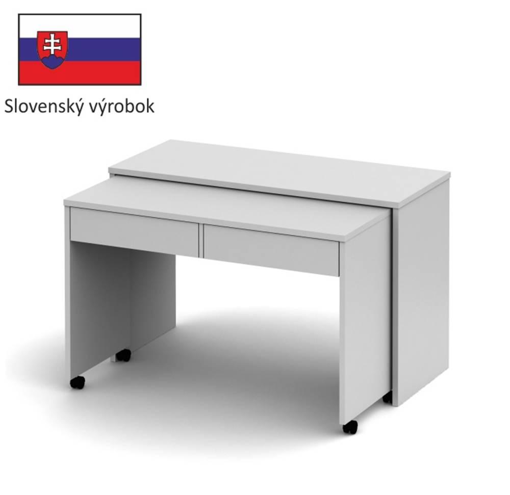 Tempo Kondela Tempo Kondela PC stôl VERSAL NEW / biela
