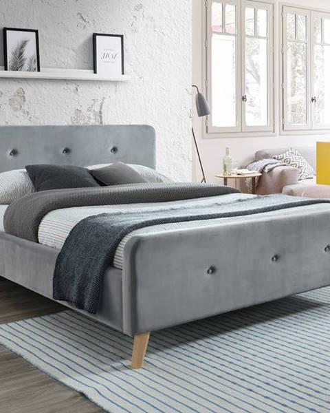 Modrá posteľ Signal