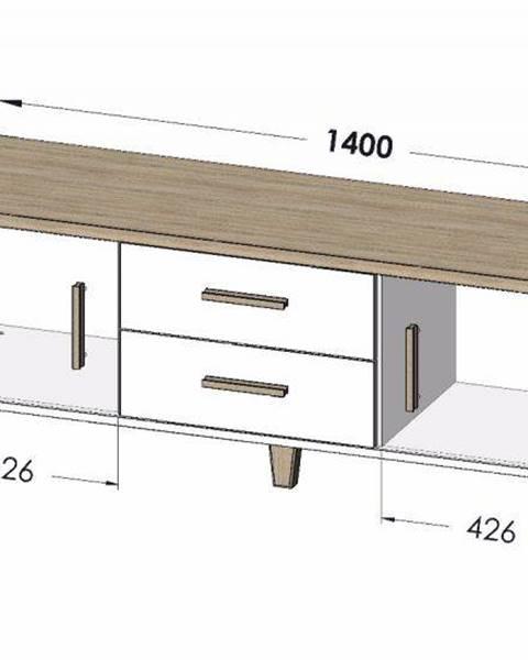 Béžový stôl Artcam