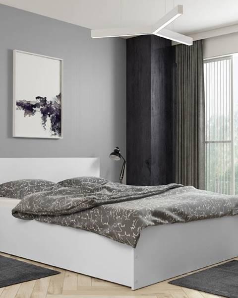 Béžová posteľ BMS