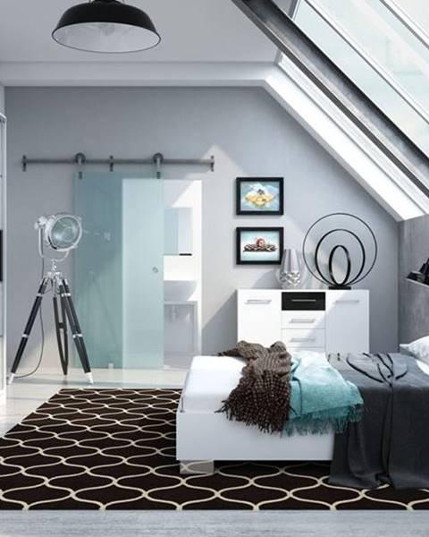 Fialová posteľ ArtStol