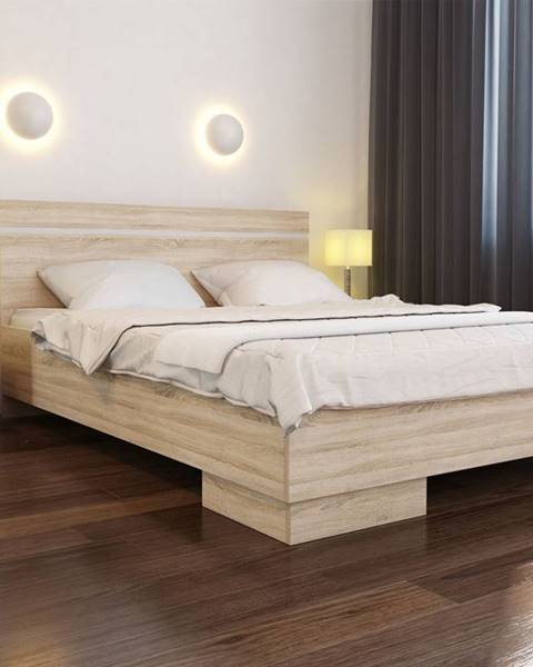 Béžová posteľ ArtStol