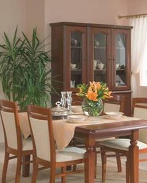 Oranžový stôl BRW