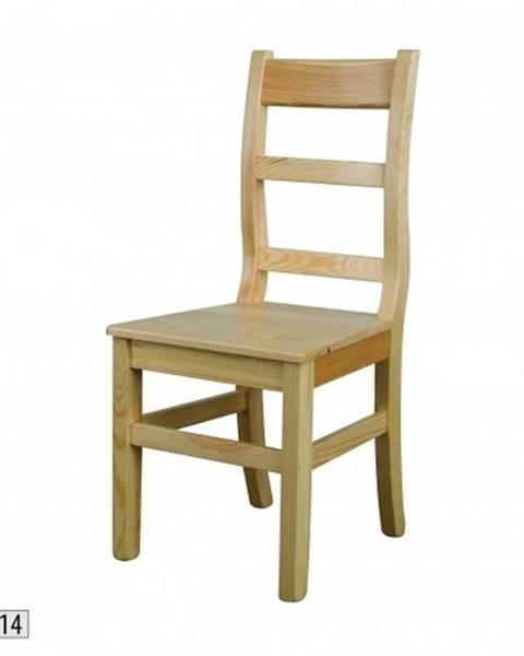 Béžová stolička Drewmax