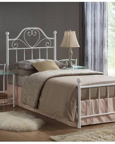 Biela posteľ Signal