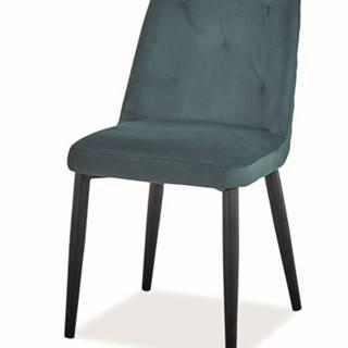 Signal Jedálenská stolička DURAN VELVET