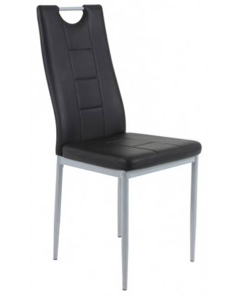 Čierna stolička ASKO - NÁBYTOK
