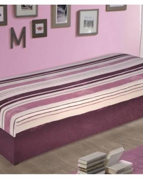Biela posteľ ASKO - NÁBYTOK