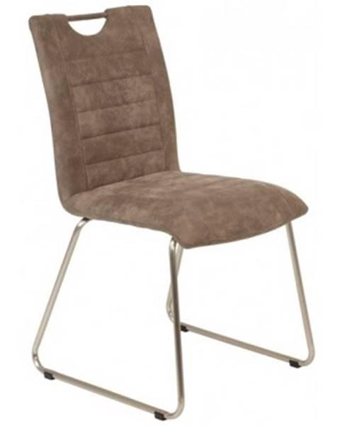 Hnedá stolička ASKO - NÁBYTOK