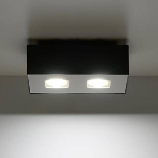 Stropná Lampa Atlanta 2 BLACK A-071