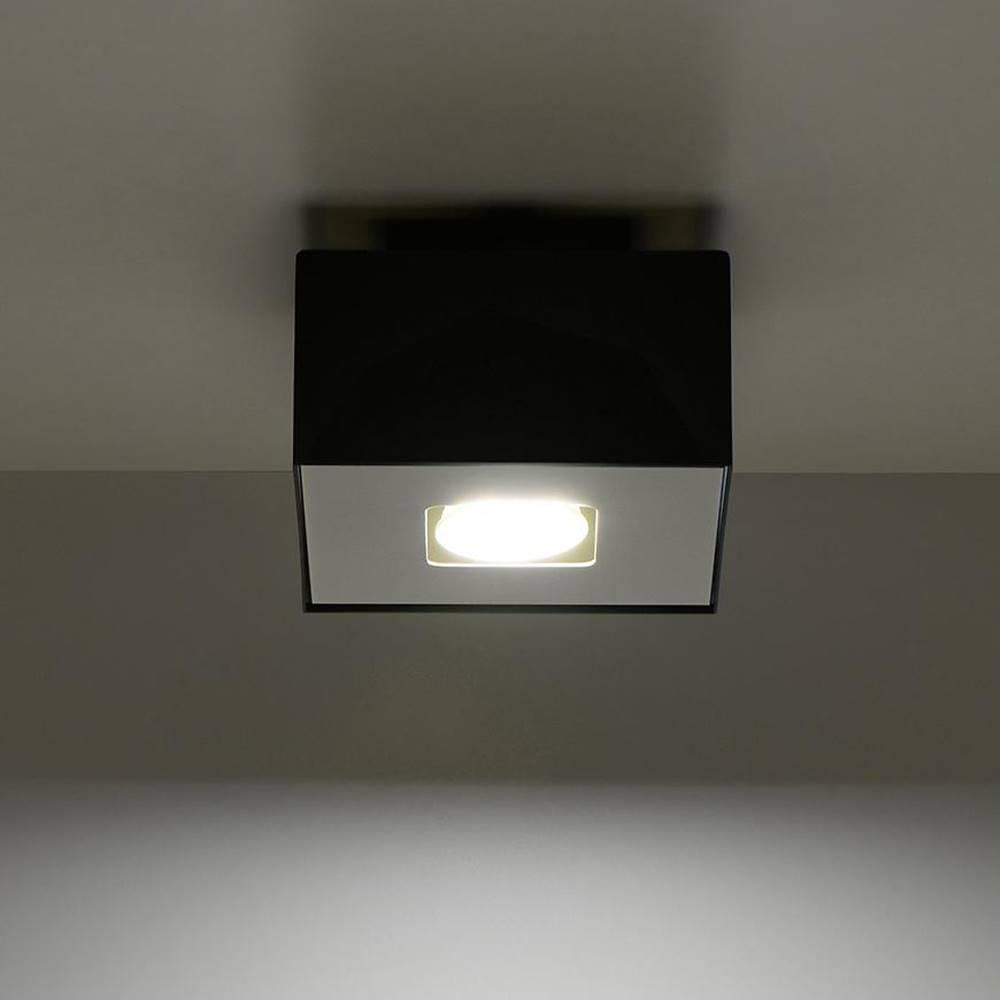 MERKURY MARKET Stropná Lampa Atlanta 1 BLACK A-070
