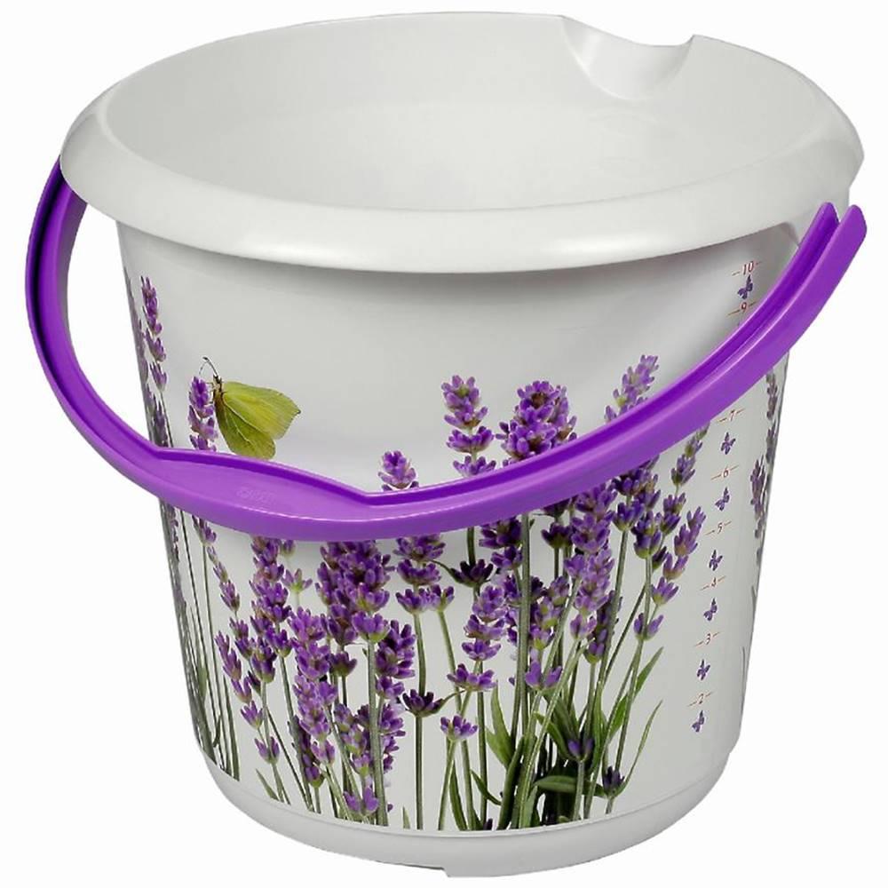 MERKURY MARKET Vedro Deco Lavender 10l