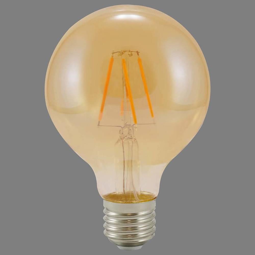 MERKURY MARKET Ziarovka LED G80 E27 4W filament Vintage Amber 304520