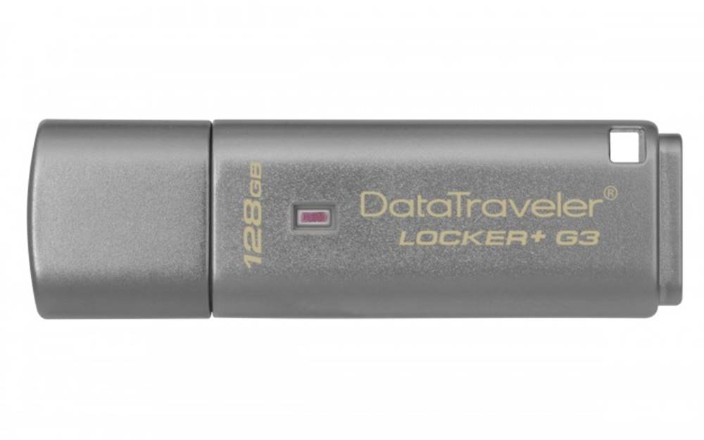 Kingston 128 GB USB 3.0 DT Locker + G3