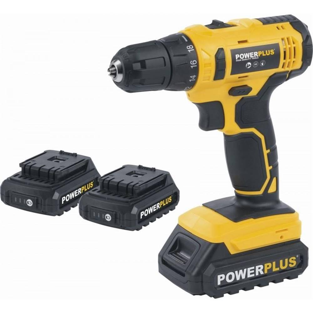 POWERPLUS Aku vŕtačka Powerplus Powx00500