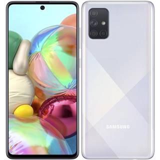Mobilný telefón Samsung Galaxy A71 strieborný