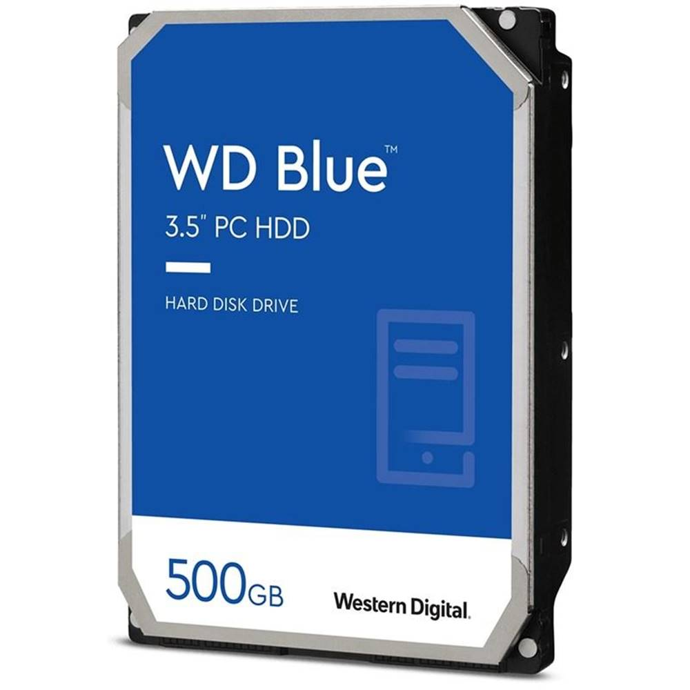 "Western Digital Pevný disk 3,5"" Western Digital Blue 500GB"