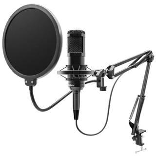 Mikrofón Niceboy Voice Handle čierny