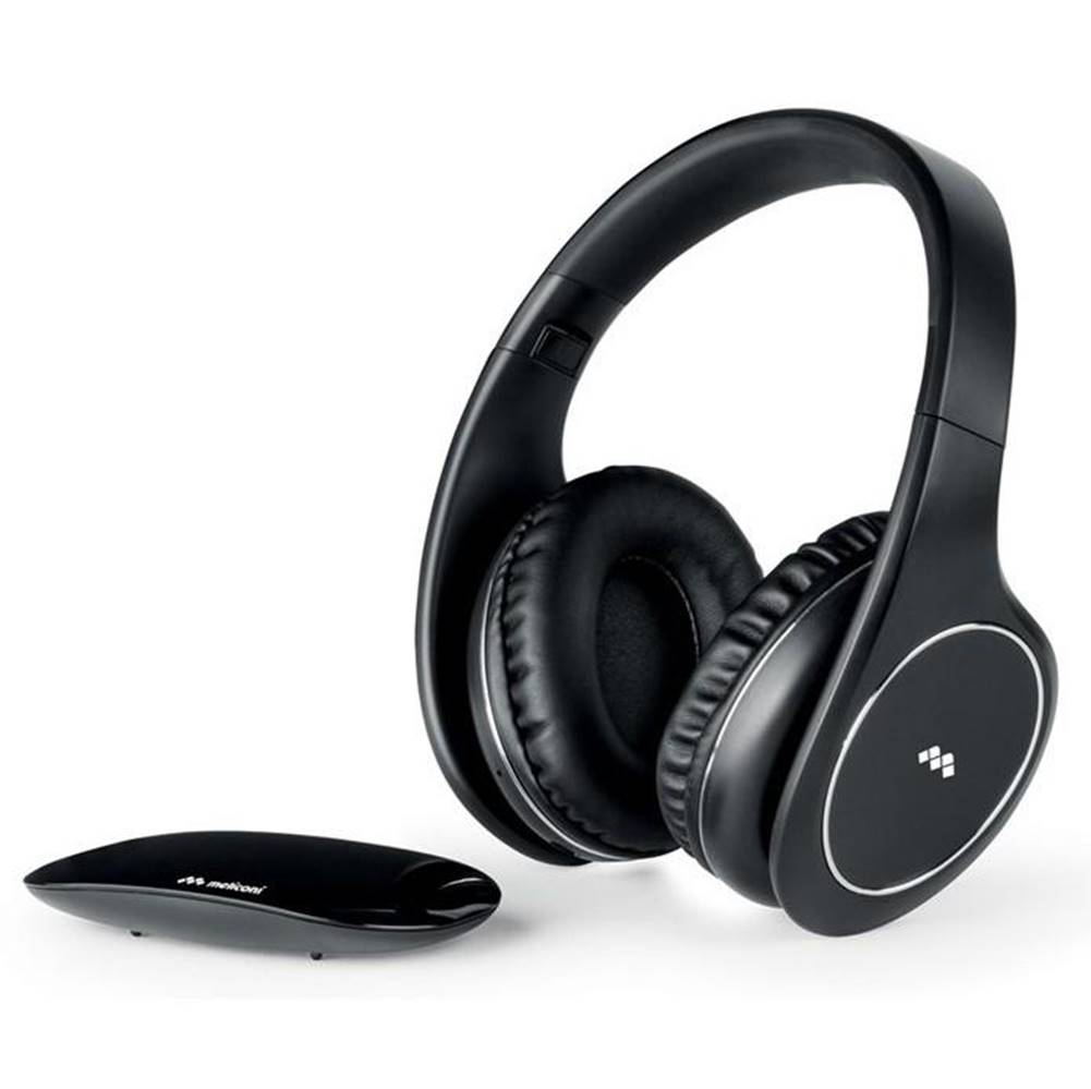Meliconi Slúchadlá Meliconi HP Easy Digital čierna