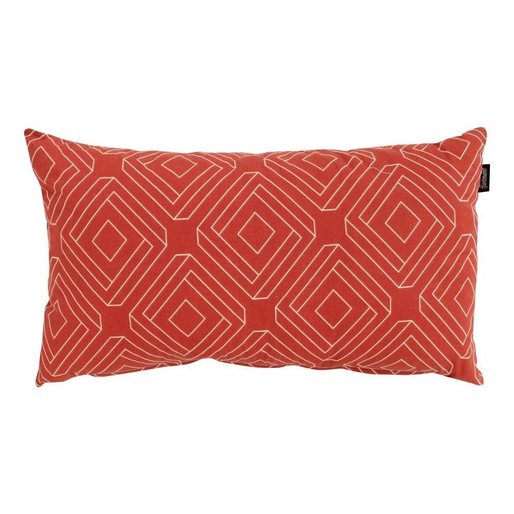 Hartman Červeno-oranžový záhradný vankúš Hartman Bibi, 30 x 50 cm