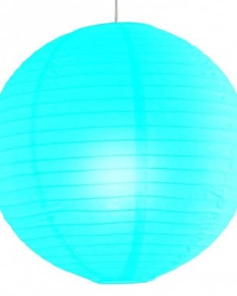 Modré závesné svietidlo ASKO - NÁBYTOK