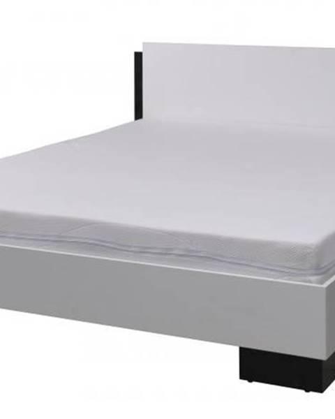 Fialová posteľ ArtMadex