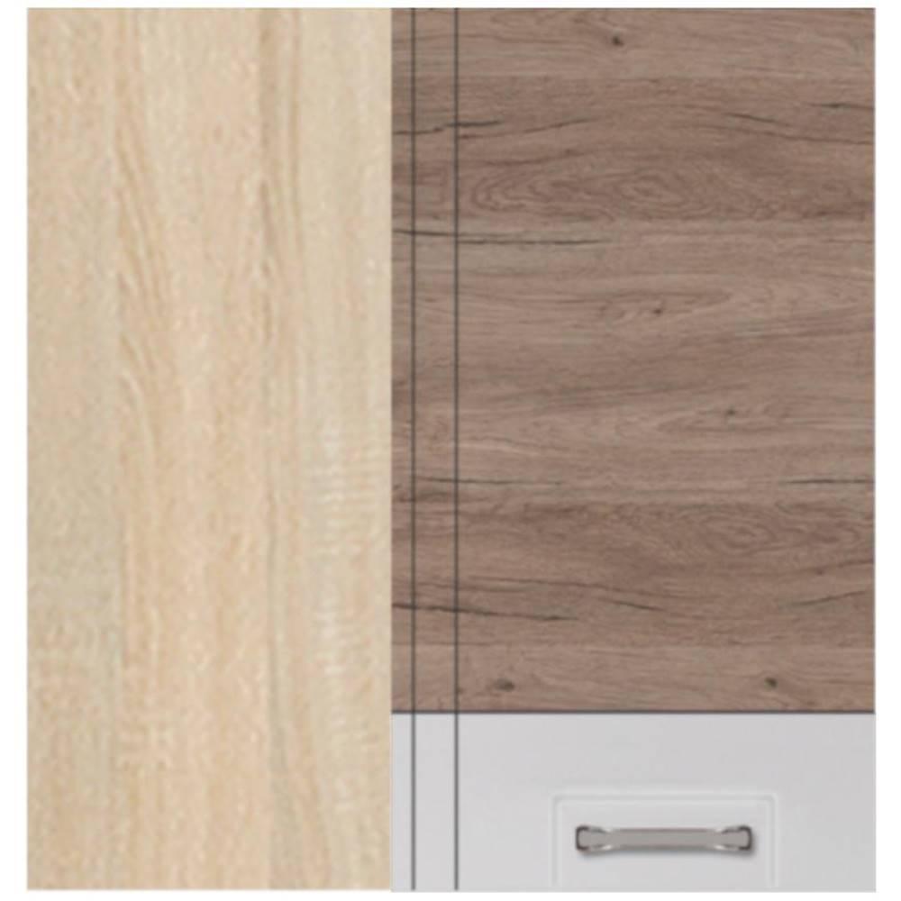 MERKURY MARKET Skrinka do kuchyne Econo 45G Sonoma/Biely/San Remo