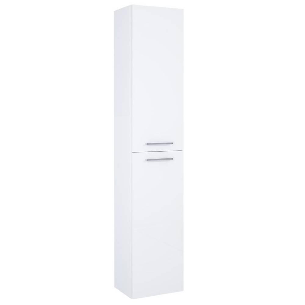 MERKURY MARKET Vysoká skrinka do kúpeľne Boa Vista white