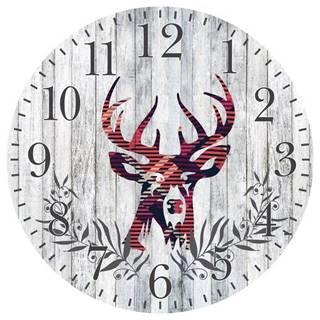 Hodiny Wall Deer PZDC
