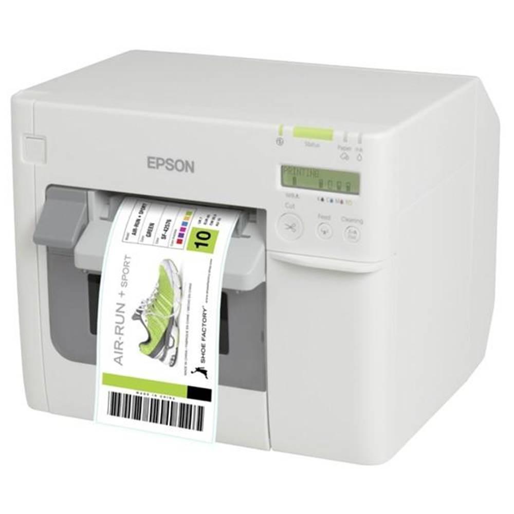 Epson Tlačiareň štítkov Epson TM-C3500