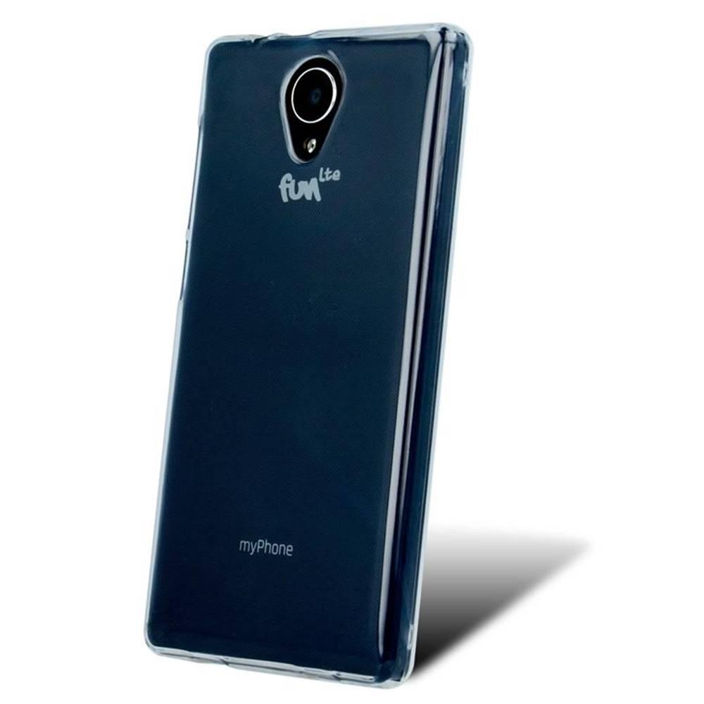 myPhone Kryt na mobil myPhone Fun LTE priehľadný