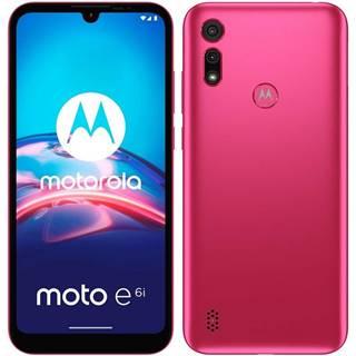 Mobilný telefón Motorola Moto E6i - Rosa
