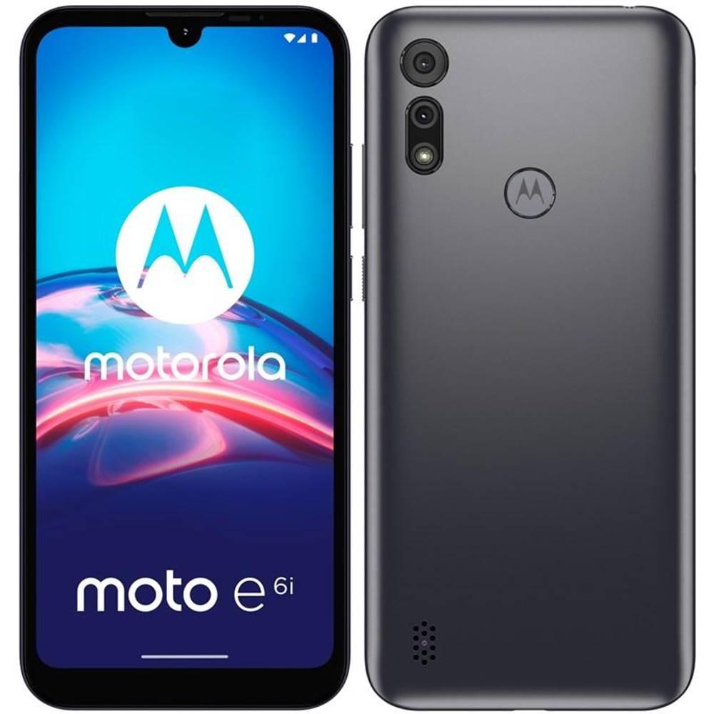 Motorola Mobilný telefón Motorola Moto E6i - Meteor Grey