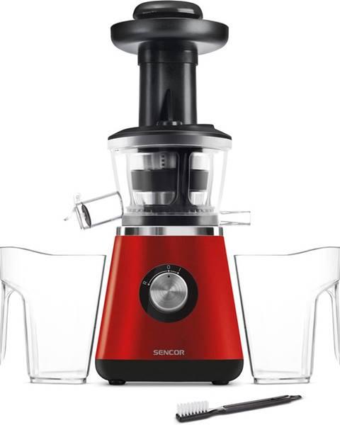 Červený odšťavovač Sencor