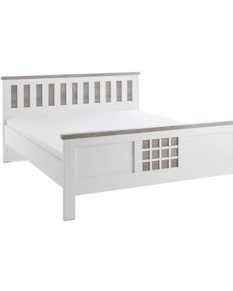 Biela posteľ Landscape