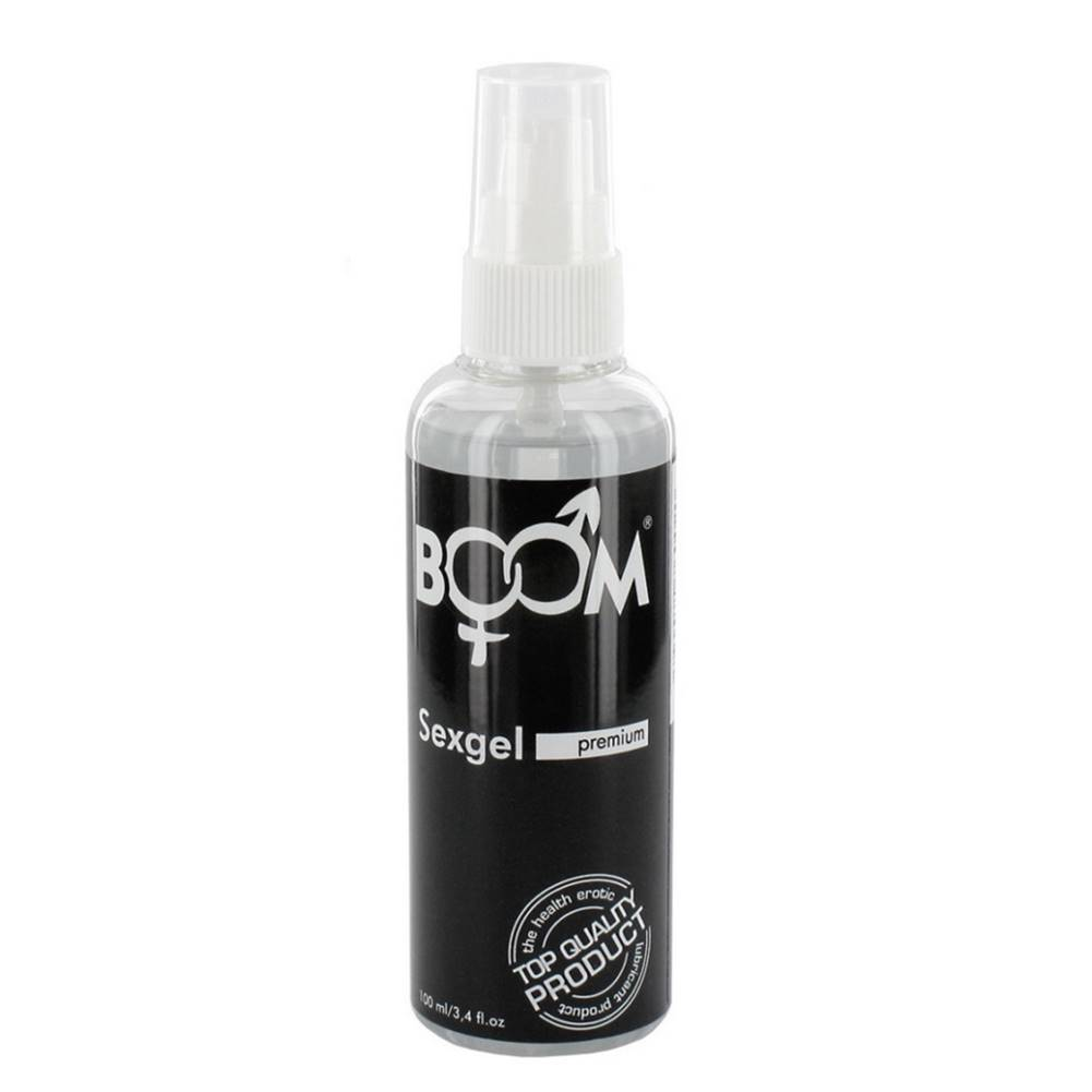 Vigan BOOM Sexgel silikónový lubrikačný olej, 100 ml
