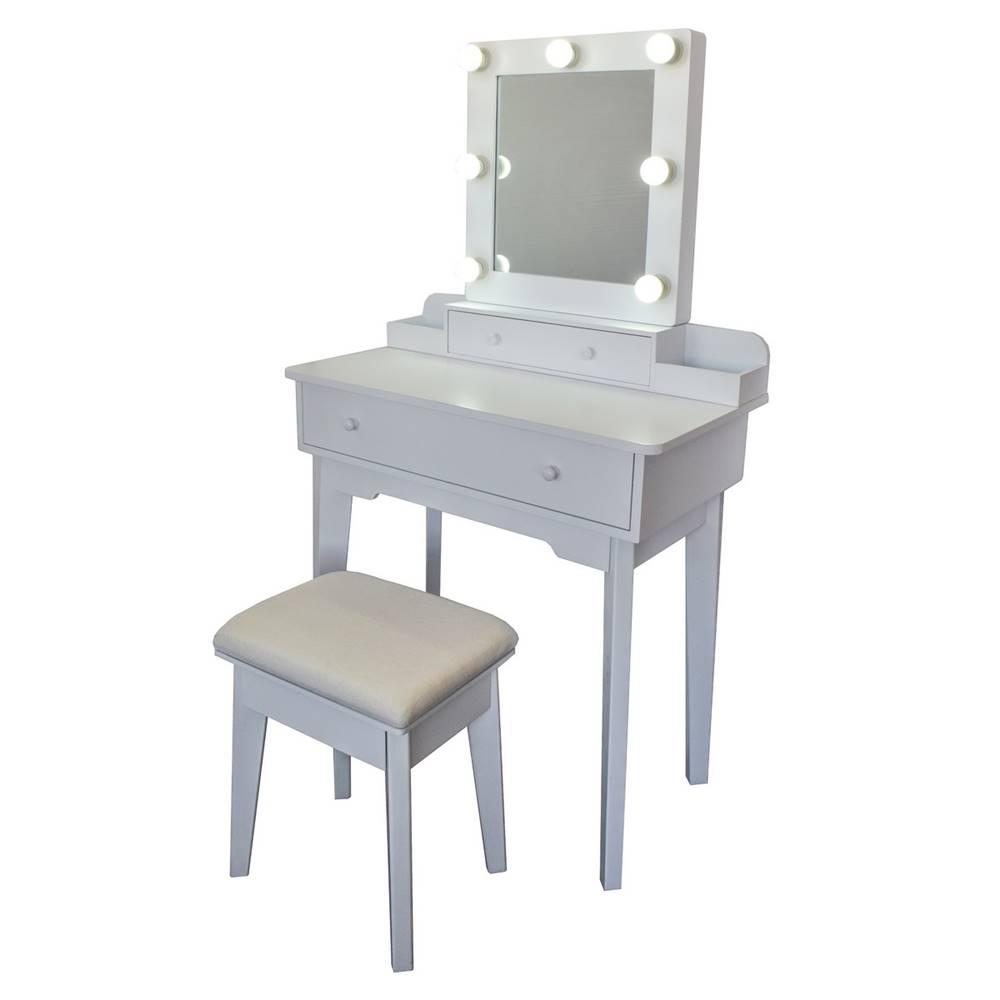Kozmetický stolík so zrkadl...