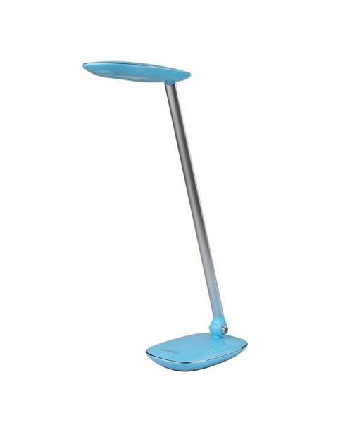 Modrá stolová lampa Tescoma