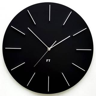 Future Time FT2010BK Round black 40cm