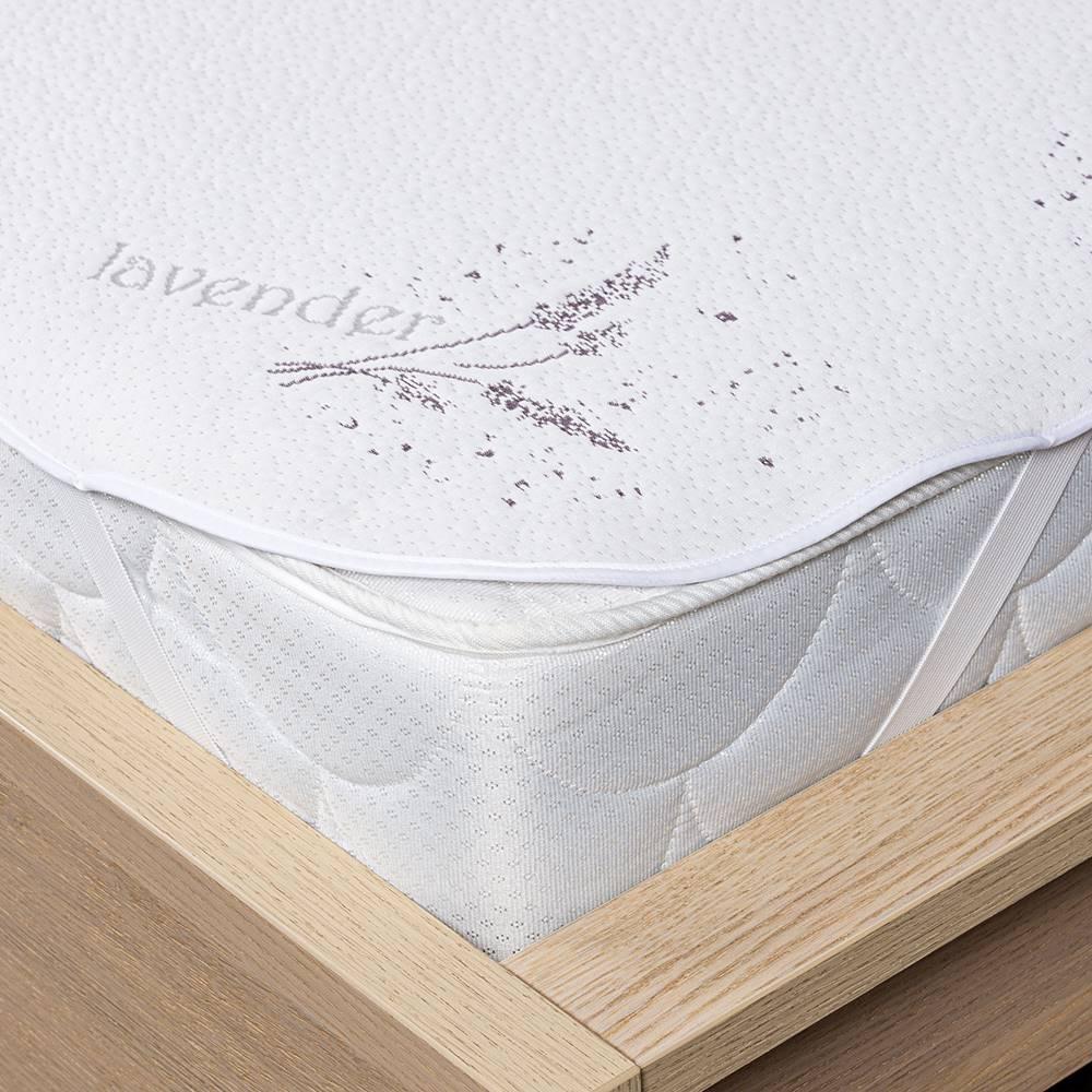 4Home 4Home Lavender Chránič matraca s gumou, 200 x 200 cm