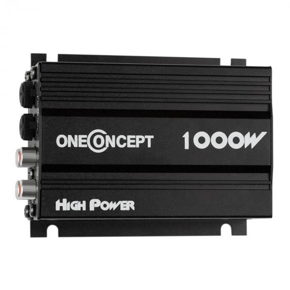 OneConcept OneConcept 4-kanálový zosilňovač oneConcept X4-A4,600 W, čierny