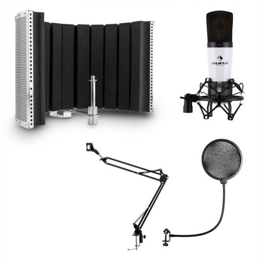 Auna Auna MIC-920, USB, mikrofónový set, V5, mikrofón, otočné rameno, POP filter, clona