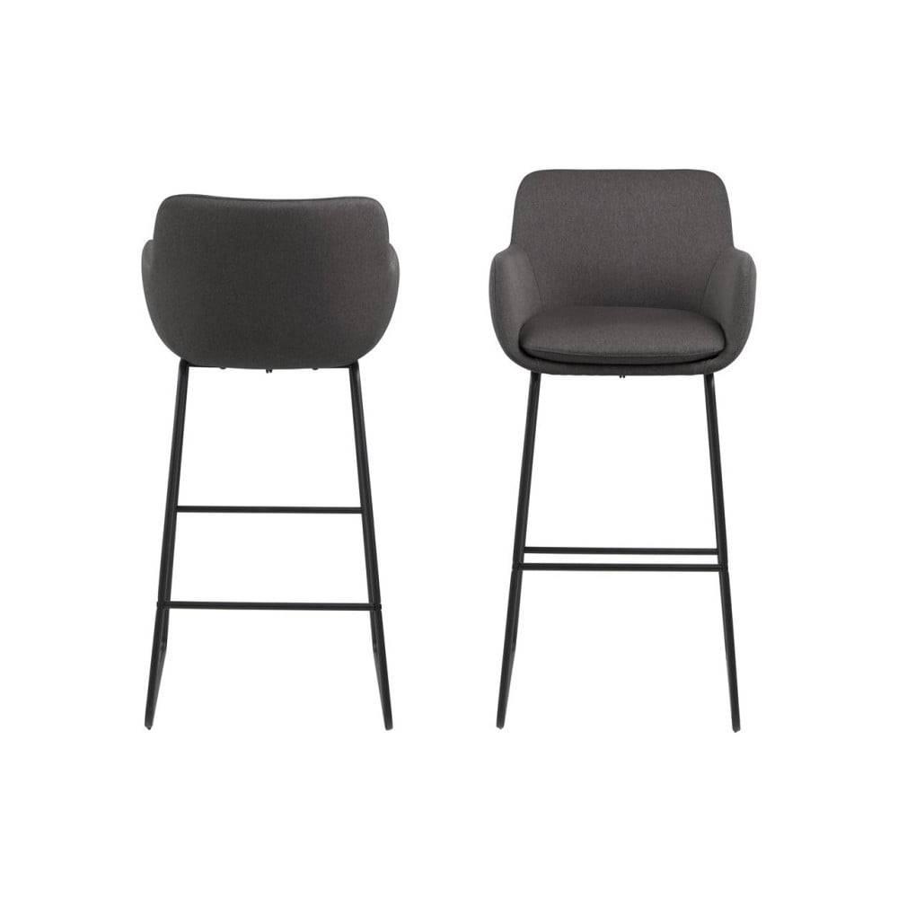 Actona Čierna barová stolička Actona Lisa
