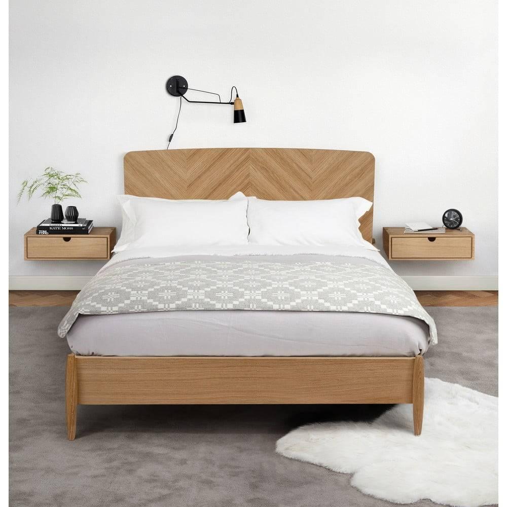 Woodman Nástenný nočný stolík Woodman Farsta Wall Bedside