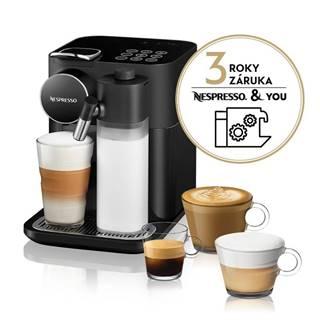 Espresso DeLonghi Nespresso Gran Lattissima EN650.B čierne