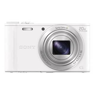 Digitálny fotoaparát Sony Cyber-shot DSC-WX350 biely
