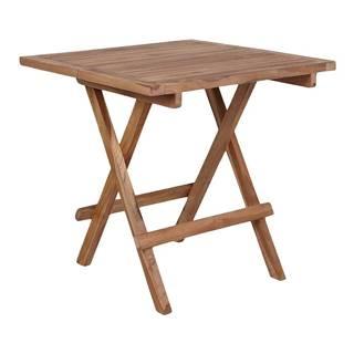 Záhradný odkladací stolík z akáciového dreva Le Bonom Diego, dĺžka 50 cm