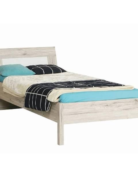 Dubová posteľ Tempo Kondela