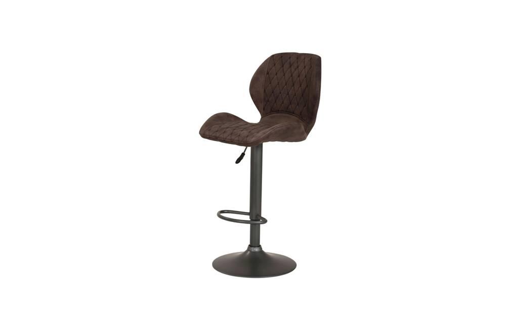 Sconto Barová stolička SONJA H vintage hnedá